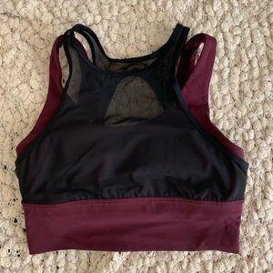 High Impact cropped sports bra